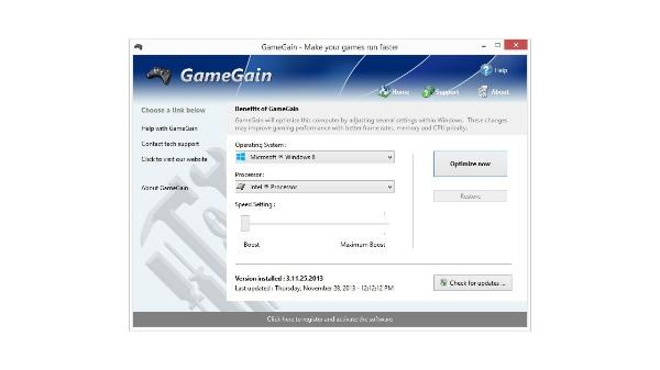 PGWARE GameGain License Key