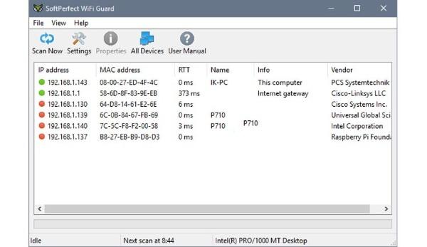 SoftPerfect-WiFi-Guard License Key