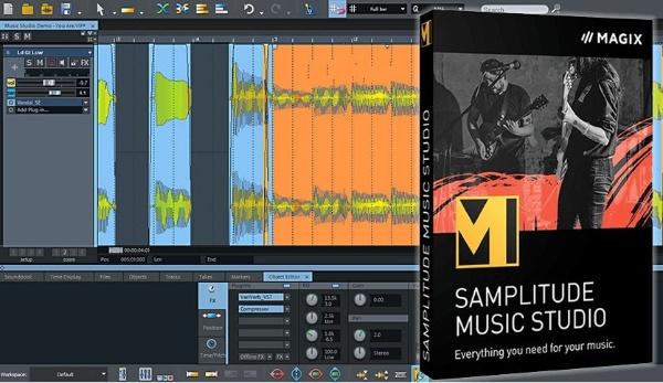 MAGIX Samplitude Music Studio Serial Key